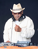 Craig Charles live at  KNEBWORTH Pub in the park Drive in  Garden Party photo by Brian Jordan