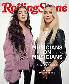 October 13, 2021 - WORLDWIDE: Olivia Rodrigo & Alanis Morissette Covers Rolling Stone Magazine