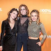 NLD/Amsterdam/20180220 - 100% NL Awards 2018, Krystl, Elske DeWall, Rachèl Louise