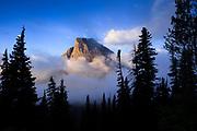 Heavy Runner Mountain, Glacier National Park.