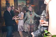 NICK MASON; NETTIE MASON; KATIE BARKER;  , Amanda Eliasch birthday dinner. North Audley st. London. 12 May 2010. -DO NOT ARCHIVE-© Copyright Photograph by Dafydd Jones. 248 Clapham Rd. London SW9 0PZ. Tel 0207 820 0771. www.dafjones.com.