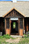 Dom organisty (tzw. organistówka) ze wsi Bieliny