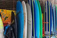 Local surf shop in Sayulita, Mexico