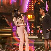 NLD/Hilversum/20190201- TVOH 2019 1e liveshow, optreden Talita Blijd met haar moeder Muriel