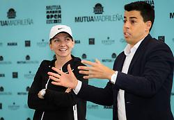 May 7, 2019 - Madrid, MADRID, SPAIN - Simona Halep of Romania meets Junior players at the 2019 Mutua Madrid Open WTA Premier Mandatory tennis tournament (Credit Image: © AFP7 via ZUMA Wire)