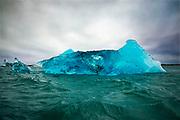 Iceberg, Jökulsárlón Lagoon, Iceland