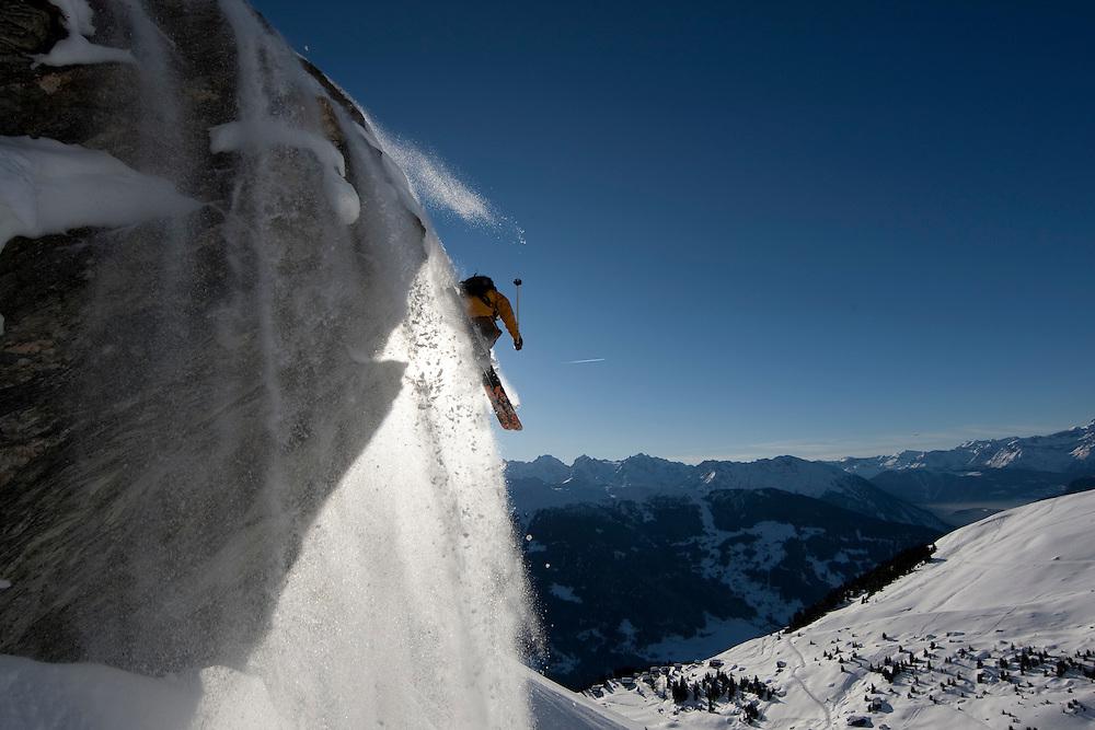 Rider: Raphy Gillioz.Location: Verbier (Switzerland)