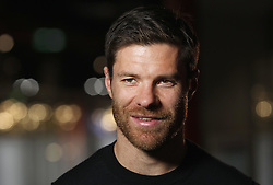 14.10.2014, Allianz Arena, München, GER, 1. FBL, FC Bayern Muenchen, Xabi Alonso, im Bild Xabi Alonso (FC Bayern München) // FC Bayern Munich player Xabi Alonso visits the FC Bayern Erlebniswelt Museum at the Allianz Arena in München, Germany on 2014/10/14. EXPA Pictures © 2014, PhotoCredit: EXPA/ Eibner-Pressefoto/ FCB/Getty Pool<br /> <br /> *****ATTENTION - OUT of GER*****