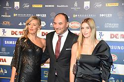 December 3, 2018 - Milan, Italy - Barbara Mietti and Gigi Casiraghi attend the 'Oscar Del Calcio AIC' Italian Football Awards on December 3, 2018 in Milan, Italy. (Credit Image: © Andrea Diodato/NurPhoto via ZUMA Press)