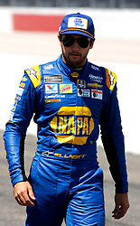September 1, 2018 - Darlington, SC, U.S. - DARLINGTON, SC - SEPTEMBER 01:  Chase Elliott, Hendrick Motorsports, Chevrolet Camaro NAPA Throwback (9) during qualifying for the 69th annual Bojangles Southern 500 on Saturday September 1, 2018 at Darlington Raceway in Darlington South Carolina (Photo by Jeff Robinson/Icon Sportswire) (Credit Image: © Jeff Robinson/Icon SMI via ZUMA Press)