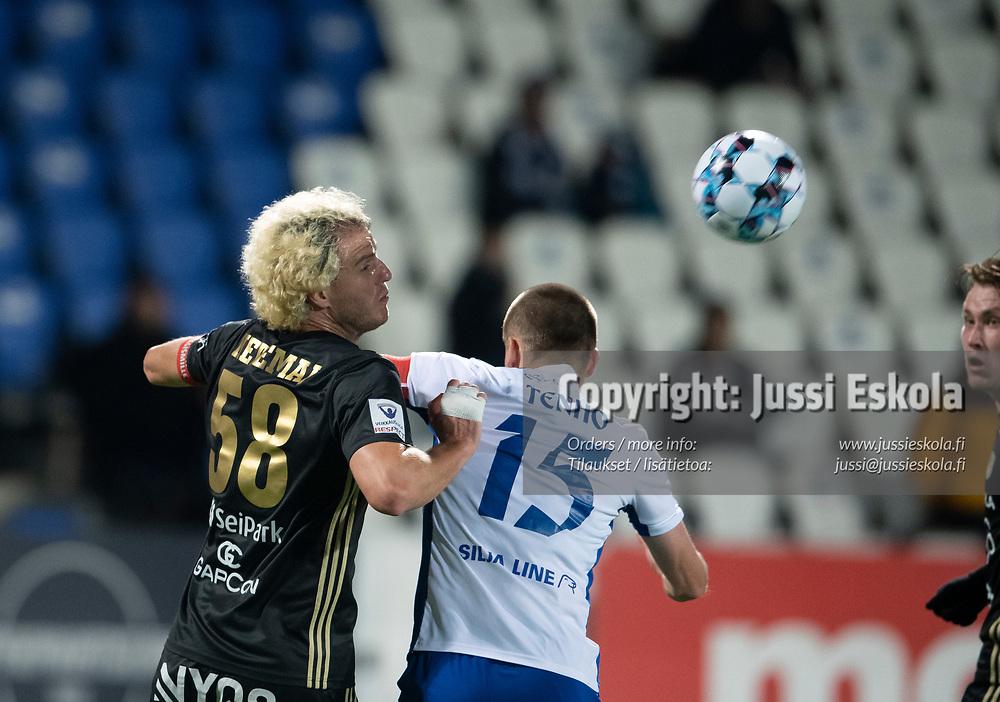 Mehmet Hetemaj. HJK - SJK. Veikkausliiga. Helsinki 3.10.2021. Photo: Jussi Eskola