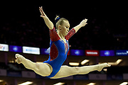 Angelina Melnikova of Russia (RUS) on the Beam during the iPro Sport World Cup of Gymnastics 2017 at the O2 Arena, London, United Kingdom on 8 April 2017. Photo by Martin Cole.