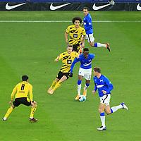 21.11.2020, OLympiastadion, Berlin, GER, DFL, 1.FBL, Hertha BSC VS. Borussia Dortmund, <br /> DFL  regulations prohibit any use of photographs as image sequences and/or quasi-video<br /> im Bild Dodi Lukebakio (Hertha BSC Berlin #11), Vladimir Darida (Hertha BSC Berlin #6), Niklas Stark (Hertha BSC Berlin #5),<br /> Marco Reus (Borussia Dortmund #11), Axel Witsel (Borussia Dortmund #28), Mahmoud Dahoud (Borussia Dortmund #8)<br /> <br />       <br /> Foto © nordphoto / Engler