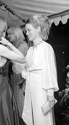 MIRANDA SELLERS at a dance in Wiltshire on 8th July 1972.
