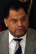DURBAN - 18 January 2006 - CEO of the South African Organising Committee for the FIFA 2010 World Cup Danny Jordaan addresses the media at the Durban City Hall on the city's preparedness to host matches..Picture: Giordano Stolley/Allied Picture Press