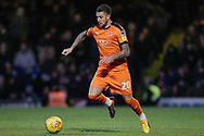 Luton Town midfielder George Moncur (20) during the EFL Sky Bet League 1 match between Southend United and Luton Town at Roots Hall, Southend, England on 26 January 2019.
