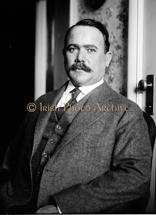 Salvaro Obregon Salido (1880-1928) Mexican general and politician, President of Mexico 1920-1924. Obregon won the 1928 Presidential election but was shot dead on 17 July 1928 by Jose de Leon Toral, a Roman Catholic who opposed to the Mexican government's religious policies. Photograph.