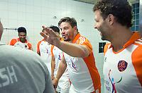 ROTTERDAM - Max Caldas en Santi Freixa In de kleedkamer bij afscheidswedstrijd TEUN DE NOOIJER. FOTO KOEN SUYK