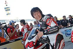 01.05.2010, Motomondiale, Jerez de la Frontera, ESP, MotoGP, Race, im Bild Shoya Tomizawa - Technomag - Cip team. EXPA Pictures © 2010, PhotoCredit: EXPA/ InsideFoto / SPORTIDA PHOTO AGENCY