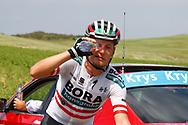 Tour de France 2018 - 105th Edition - 16th stage Carcassonne - Bagneres de Luchon 218 km - 24/07/2018 - Lukas Postlberger (AUT - Bora - Hansgrohe) - photo Luca Bettini/BettiniPhoto©2018