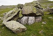 Norber erratics glacial deposition, Austwick, Yorkshire Dales national park, England, UK