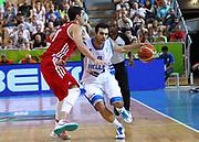 DESCRIZIONE : Koper Slovenia Eurobasket Men 2013 Preliminary Round Grecia Russia Greece Russia<br /> GIOCATORE : Kostas Sloukas<br /> CATEGORIA : palleggio dribble<br /> SQUADRA : Grecia Greece<br /> EVENTO : Eurobasket Men 2013<br /> GARA : Grecia Russia Greece Russia<br /> DATA : 05/09/2013 <br /> SPORT : Pallacanestro <br /> AUTORE : Agenzia Ciamillo-Castoria/ElioCastoria<br /> Galleria : Eurobasket Men 2013<br /> Fotonotizia : Koper Slovenia Eurobasket Men 2013 Preliminary Round Grecia Russia Greece Russia<br /> Predefinita :