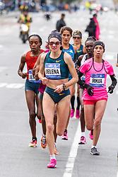 NYC Marathon, Jelena Procopcuka leads pack mile 18
