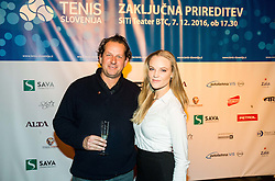 Gregor Vehovec at Slovenian Tennis personality of the year 2016 annual awards presented by Slovene Tennis Association Tenis Slovenija, on December 7, 2016 in Siti Teater, Ljubljana, Slovenia. Photo by Vid Ponikvar / Sportida