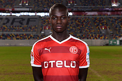 02.07.2015, Esprit Arena, Duesseldorf, GER, 2. FBL, Fortuna Duesseldorf, Fototermin, im Bild Ihlas Bebou ( Fortuna Duesseldorf / Portrait ) // during the official Team and Portrait Photoshoot of German 2nd Bundesliga Club Fortuna Duesseldorf at the Esprit Arena in Duesseldorf, Germany on 2015/07/02. EXPA Pictures © 2015, PhotoCredit: EXPA/ Eibner-Pressefoto/ Thienel<br /> <br /> *****ATTENTION - OUT of GER*****