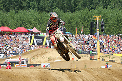June 17, 2018 - Ottobiano, Lombardia, Italy - Evgeny Bobryshev of BOS GP team during the Fiat Professional MXGP of Lombardia race at Ottobiano Motorsport circuit on June 17, 2018 in Ottobiano (PV), Italy. (Credit Image: © Massimiliano Ferraro/NurPhoto via ZUMA Press)