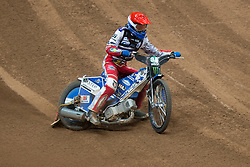 May 12, 2018 - Warsaw, Poland - Maksym Drabik (POL) during 1st round of Speedway World Championships Grand Prix Poland in Warsaw, Poland, on 12 May 2018. (Credit Image: © Foto Olimpik/NurPhoto via ZUMA Press)