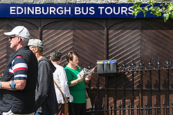 Pictured: <br /> The President of COSLA Councillor Alison Evison was joined today in Edinburgh by Councillor Gail Macgregor, COSLA's Resources Spokesperson and Councillor Adam McVey, Leader of Edinburgh City Council to set out in detail, Scottish Local Government's case for the introduction of a Transient Visitor Tax (Tourist tax).<br /> <br /> <br /> Ger Harley | EEm 27 June 2018