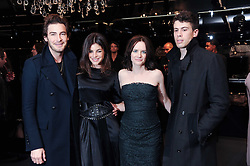 Left to right, ROBERT KONJIC, JULIA RESTOIN-ROITFELD, EILIDH MacASKILL and TOBY KEBBELL at a party hosted by InStyle to celebrate the iconic glamour of Dolce & Gabbana held at D&G, 6 Old Bond Street, London on 3rd November 2010.