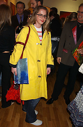 DAISY DE VILLENEUVE at an exhibition of art by Jeffrey Kroll entitled Imirage held at the Arndean Gallery, Cork Street, London on 19th October 2005.<br /><br />NON EXCLUSIVE - WORLD RIGHTS