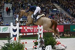 Sprunger Janika, (SUI), Bonne Chance Cw<br /> Coupe de Genève<br /> CHI de Genève 2015<br /> © Hippo Foto - Dirk Caremans<br /> 12/12/15