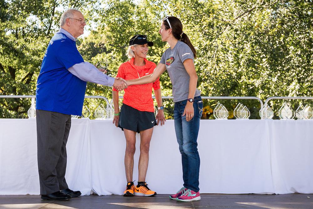 Dot McMahan receives award
