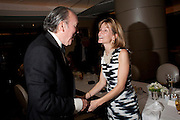 PEPE FANJUL; ANNA CARTER, Graydon Carter hosts a dinner to celebrate the reopening og the American Bar at the Savoy.  Savoy Hotel, Strand. London. 28 October 2010. -DO NOT ARCHIVE-© Copyright Photograph by Dafydd Jones. 248 Clapham Rd. London SW9 0PZ. Tel 0207 820 0771. www.dafjones.com.