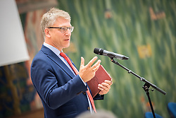 20 September 2017, Geneva, Switzerland: World Council of Churches staff gather for the annual Staff Enrichment Days. Here, Olav Fykse Tveit.