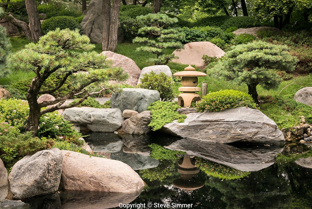 The  design of the Japanese Garden is a gift from the people of St. Paul's sister city, Nagasaki, Japan.