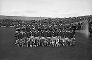 01/09/1968<br /> 09/01/1968<br /> 1 September 1968<br /> All-Ireland Minor Hurling Final: Cork v Wexford at Croke Park, Dublin.<br /> The Cork team who were beaten by Wexford in the All-Ireland Minor Hurling Final.