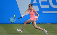 Magdalena Rybarikova (SVK) in Action during her match against Alison Riske (USA). The Aegon Open Nottingham 2017, international tennis tournament at the Nottingham tennis centre in Nottingham, Notts , day 4 on Thursday 15th June 2017.<br /> pic by Bradley Collyer, Andrew Orchard sports photography.