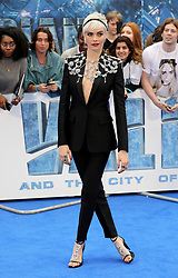 'Valerian and the City of a Thousand Planets' film premiere, Arrivals, London, UK. 24 Jul 2017 Pictured: Cara Delevingne. Photo credit: MEGA TheMegaAgency.com +1 888 505 6342