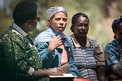 31 January 2019, Southern Nations, Nationalities, and Peoples' Region, Ethiopia: Alamizu Abose is currently chairing the Tesfa ('hope') self-help group in Hadiya. Through the Mekane Yesus Food Security Project for Lemo Community, the Ethiopian Evangelical Church Mekane Yesus' development wing Development and Social Services Commission helps women raise their socio-economic status through community banking efforts and education, and helps improve communities' food security through training in agricultural methods suitable in a changing climate.