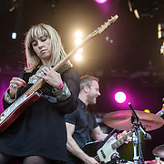 WASHINGTON, DC - September 26th, 2015 - The Joy Formidable performs at the 2015 Landmark Festival in Washington, D.C.  (Photo by Kyle Gustafson / For The Washington Post)