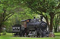 Skagit Steam Train Locomotive, Newhalem Washington