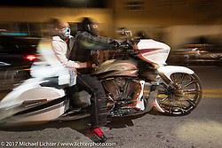 Black Bike Week is what the festivities along Dr Mary McLeod Bethune Blvd during Daytona Bike Week has come to be called . Daytona Beach, FL. USA. Thursday March 16, 2017. Photography ©2017 Michael Lichter.