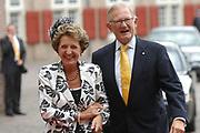 His highness prince Pieter-Christiaan of Oranje Nassau, of Vollenhoven and Ms drs. A.T. van Eijk get married Thursday 25 augusts in Palace the Loo in apeldoorn.<br /> <br /> <br /> Zijne Hoogheid Prins Pieter-Christiaan van Oranje-Nassau, van Vollenhoven en mevrouw drs. A.T. van Eijk treden donderdag 25 augustus in Paleis Het Loo te Apeldoorn in het huwelijk. <br /> <br /> On the photo/Op de foto:<br /> <br /> <br /> Hare Koninklijke Hoogheid Prinses Margriet der Nederlanden  Mr. Pieter van Vollenhoven