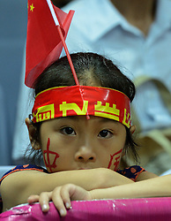 01-07-2012 VOLLEYBAL: WGP FINAL CHINA - USA: NINGBO<br /> China support, publiek jeugd jong<br /> ©2012-FotoHoogendoorn.nl