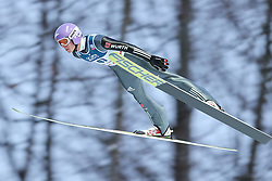 November 19, 2017 - Wisla, Poland - Andreas Wellinger (GER), competes in the individual competition during the FIS Ski Jumping World Cup on November 19, 2017 in Wisla, Poland. (Credit Image: © Foto Olimpik/NurPhoto via ZUMA Press)