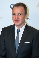 Grosvenor House Hotel, London, November 7th 2016. Luminaries from the music industry gather at the Grosvenor House Hotel for the Music Industry Awards, where this year The Who's Roger Daltrey CBE is honored with the 25th annual MITS award in support of Nordoff Robbins and The BRIT Trust. PICTURED: Tim Lovejoy